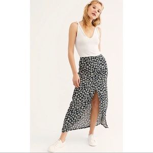 Free People-Katie Button Front Skirt